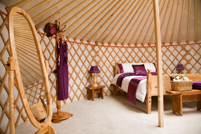 Yurt Interior Picture