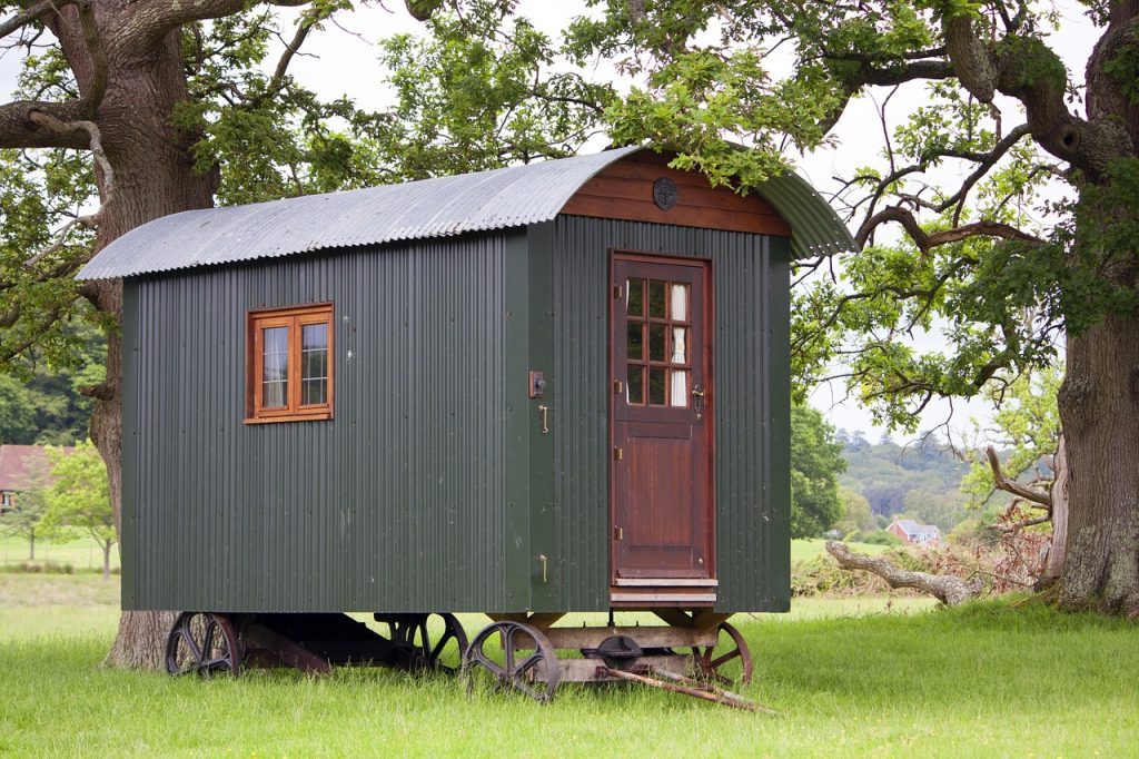 Rustic Shepherds Hut