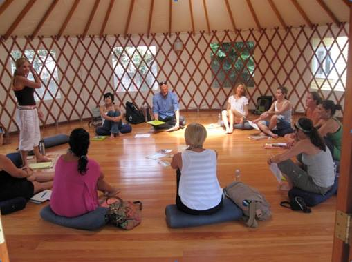 Yoga Studio Yurt - Yurts Hellas