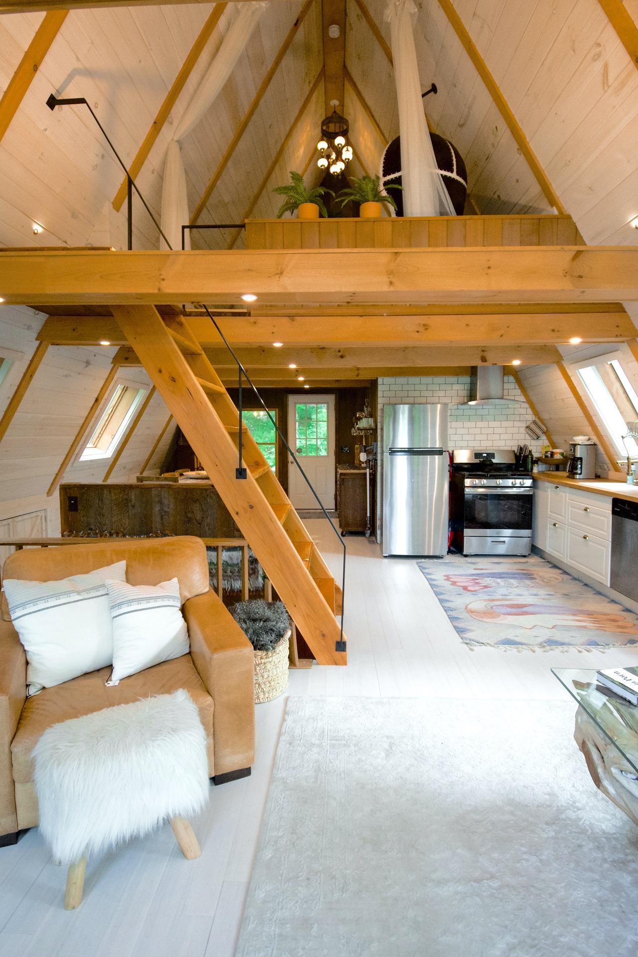 Interior of a Tiny Home